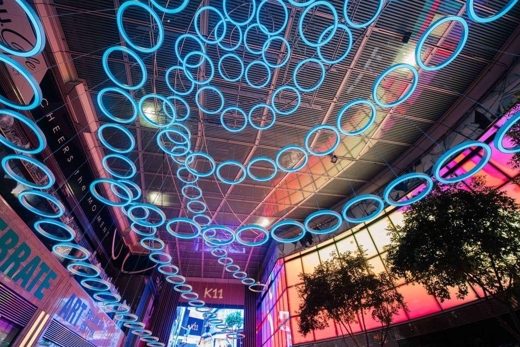 尖沙咀K11商場:Christmas Art Playground K11多媒體藝術展覽「Christmas Art Playground」已正式登場。