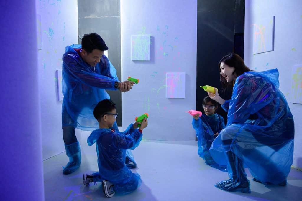 尖沙咀K11商場:Christmas Art Playground INK PLAYROOM
