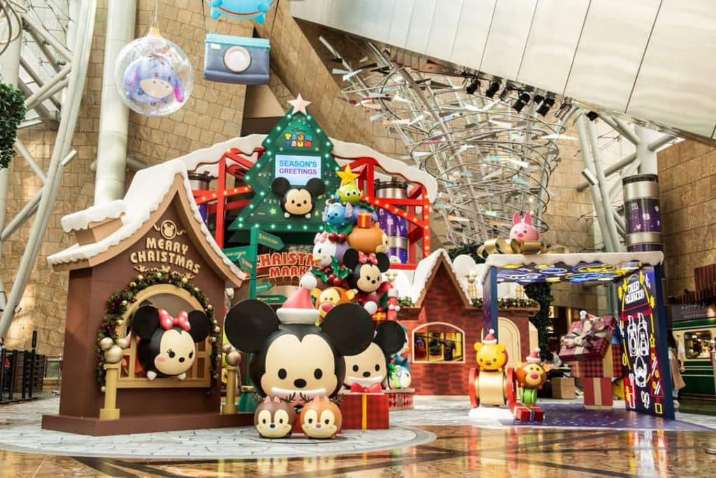 朗豪坊:迪士尼 Tsum Tsum 聖誕市集 1