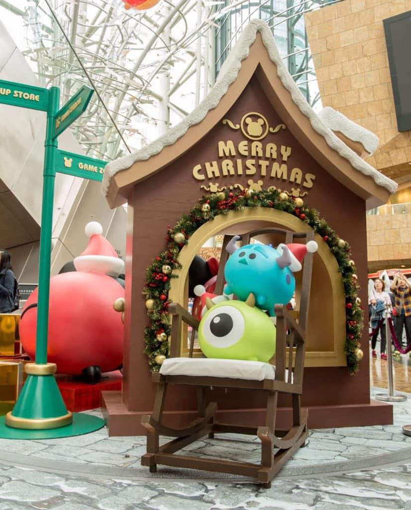 朗豪坊:迪士尼 Tsum Tsum 聖誕市集 9 Tsum Tsum 大眼仔和毛毛