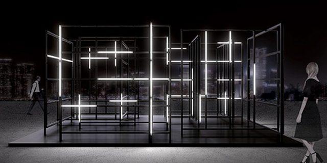 國際燈光藝術展香港展品:搭棚 (430 LTD)