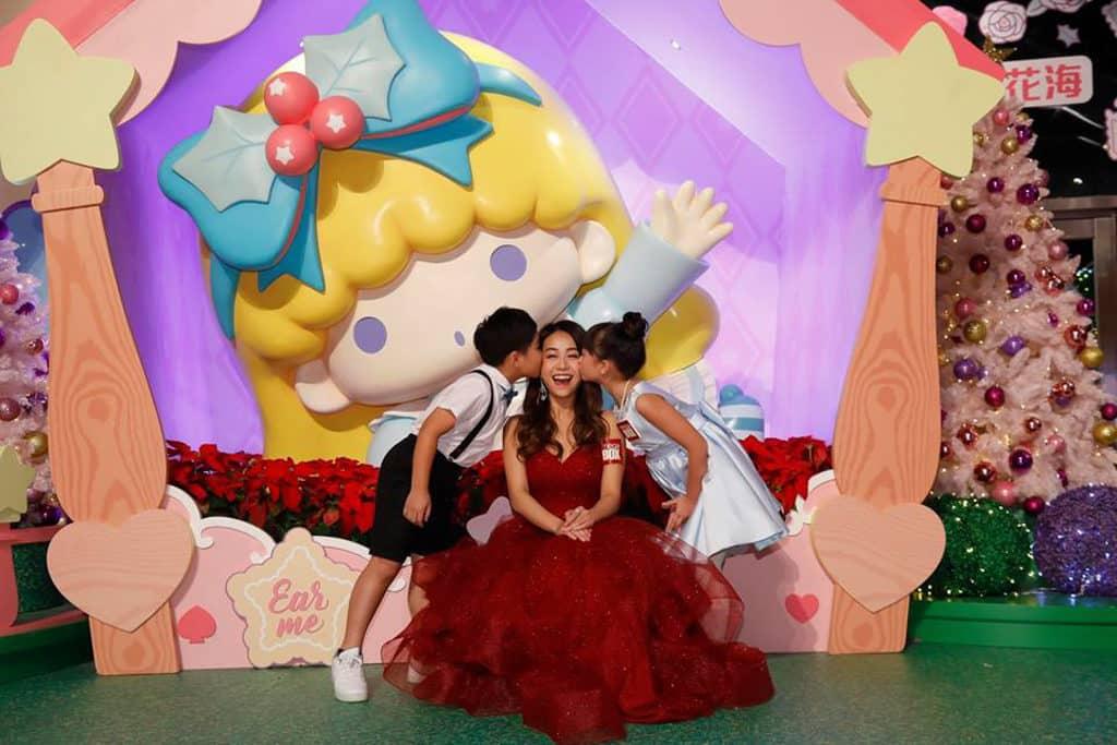 MegaBox:Little Twin Stars 聖誕夢幻樂園 8 呎巨型 Lala 打卡位
