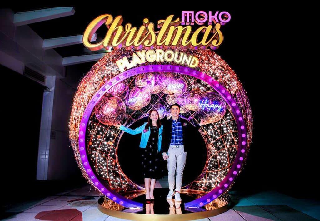MOKO新世紀廣場:Christmas Playground MOKO新世紀廣場打造聖誕浪漫打卡點。
