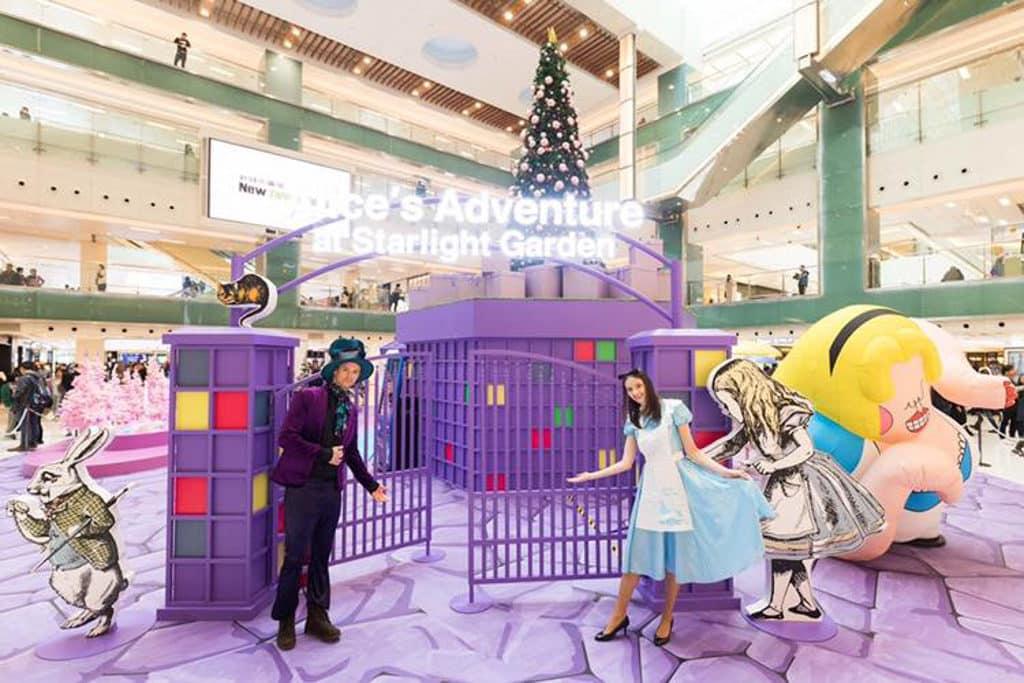 新城市廣場:Alice – Into the Rabbit Hole 活動圖片 新城市廣場以數碼互動藝術裝置全新詮釋《愛麗絲夢遊仙境》。