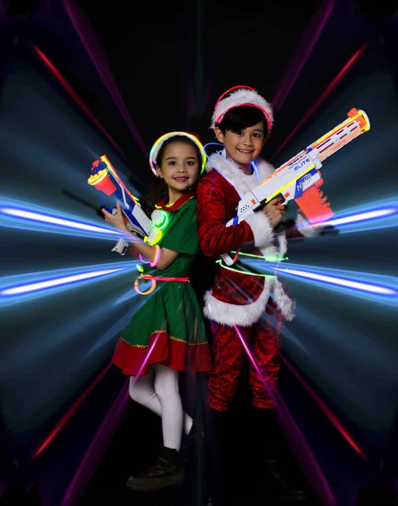 「螢光聖誕大歷險」,小朋友需在6個Zone進行受訓。