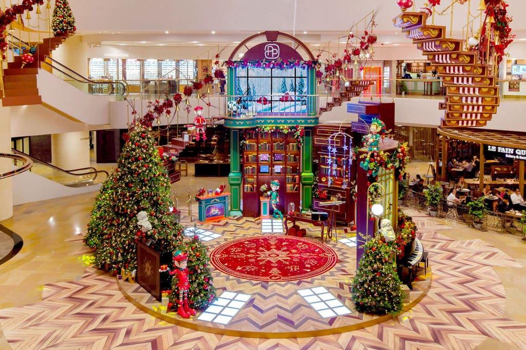 太古廣場:Where Christmas Comes to Life 太古廣場將帶來充滿神奇機關的聖誕佈置。