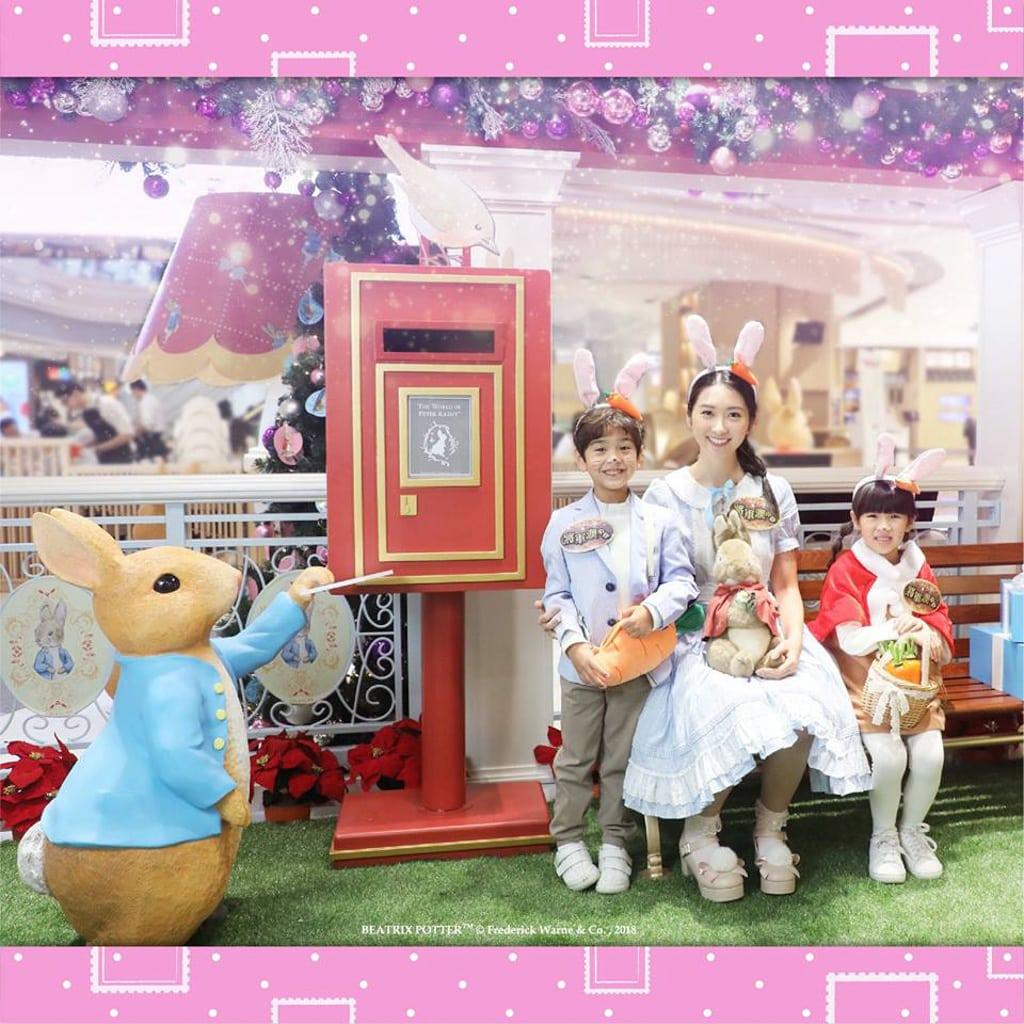 將軍澳中心:Peter Rabbit 雪國聖誕村 Peter Rabbit聖誕期間限定郵局