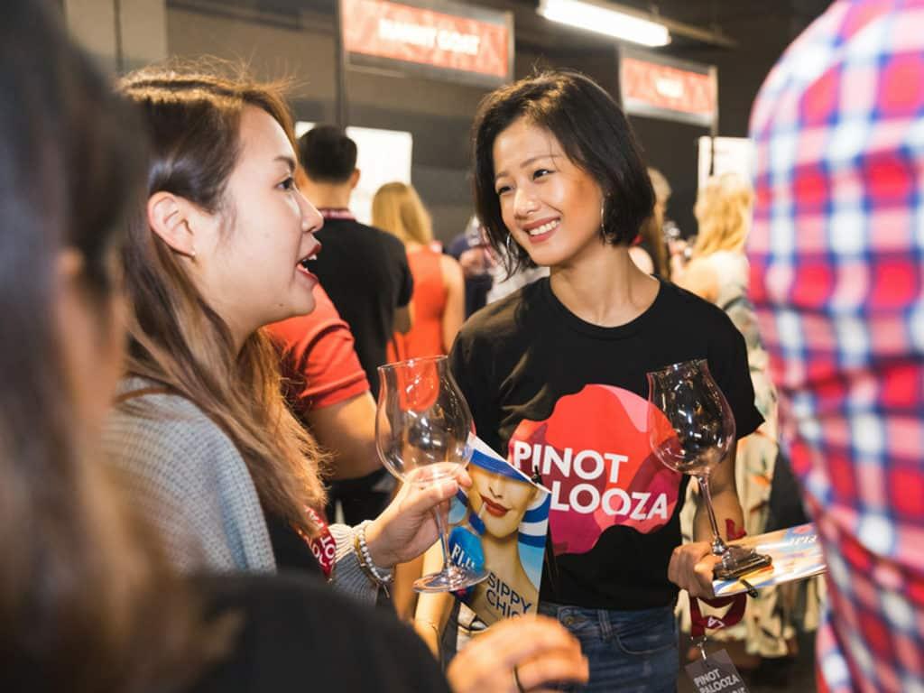 黑皮諾狂歡節2018香港站 現場可試飲超過 100 款黑皮諾葡萄酒。