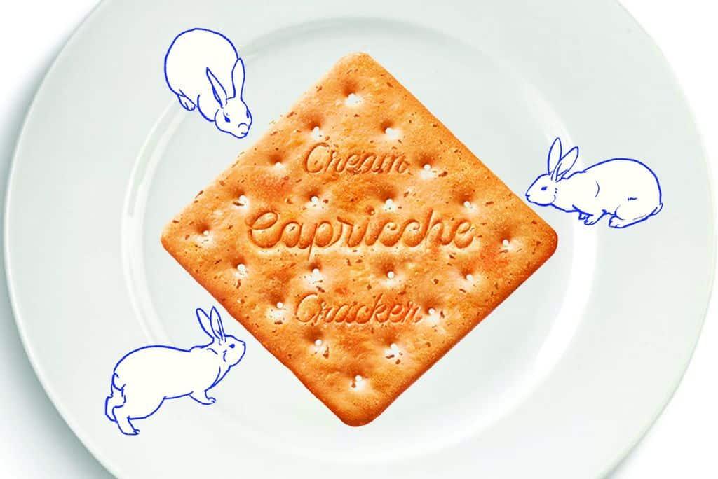 《大白兔桌上漫遊》是一個應聲影像投射裝置作品 。 觀眾可隨意跟投影互動。嘘! 記得保持安靜,拍掌或大叫都會令白兔們躲回糖果包裝的!