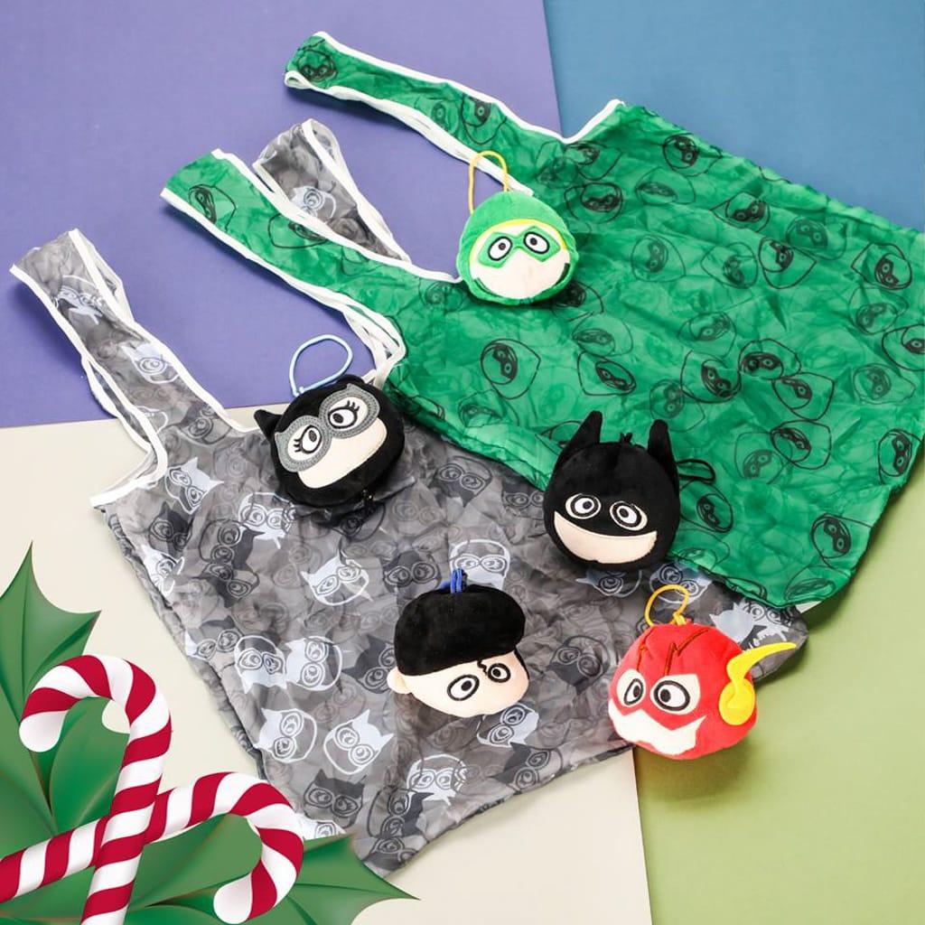 PopCorn:聖誕歡樂聯『萌』英雄基地 環保袋
