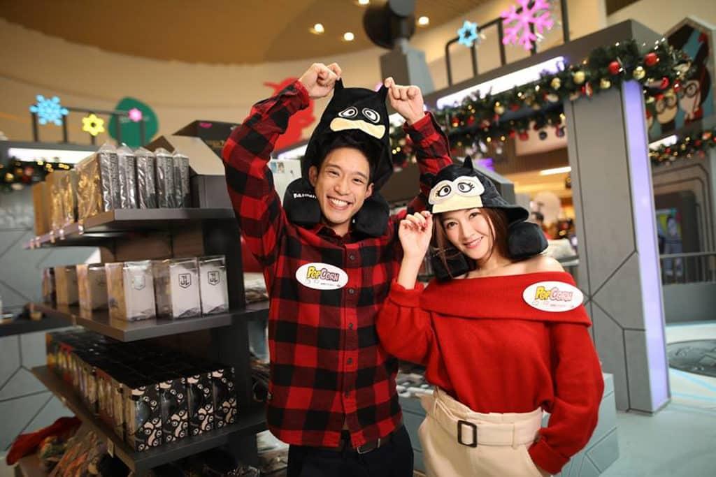 PopCorn:聖誕歡樂聯『萌』英雄基地 期間限定店售賣逾 200 款「JUSTICE LEAGUE | b.wing」精品。