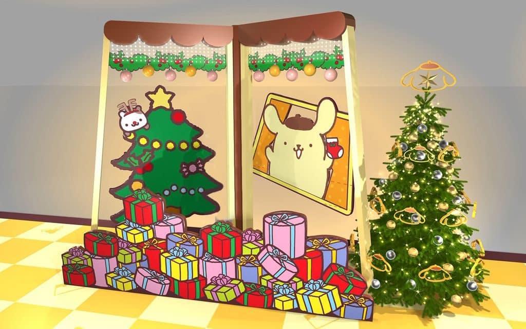 荃灣廣場:Pompompurin 部屋聖誕派對-七彩繽紛禮物山。