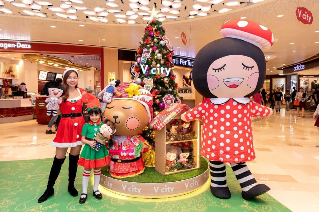 V city活動:Chocolate Rain聖誕禮物數碼基地 Chocolate Rain許願樹