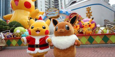 黃埔新天地:Pokémon聖誕大量発生企劃