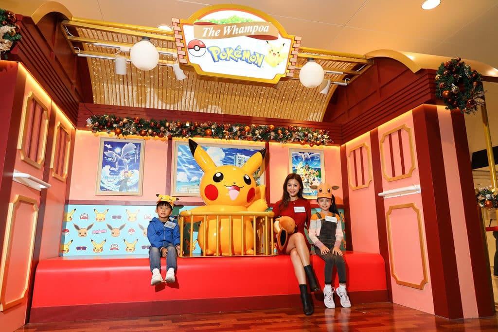黃埔新天地:Pokémon聖誕大量発生企劃 聖誕火車載滿多款電影海報