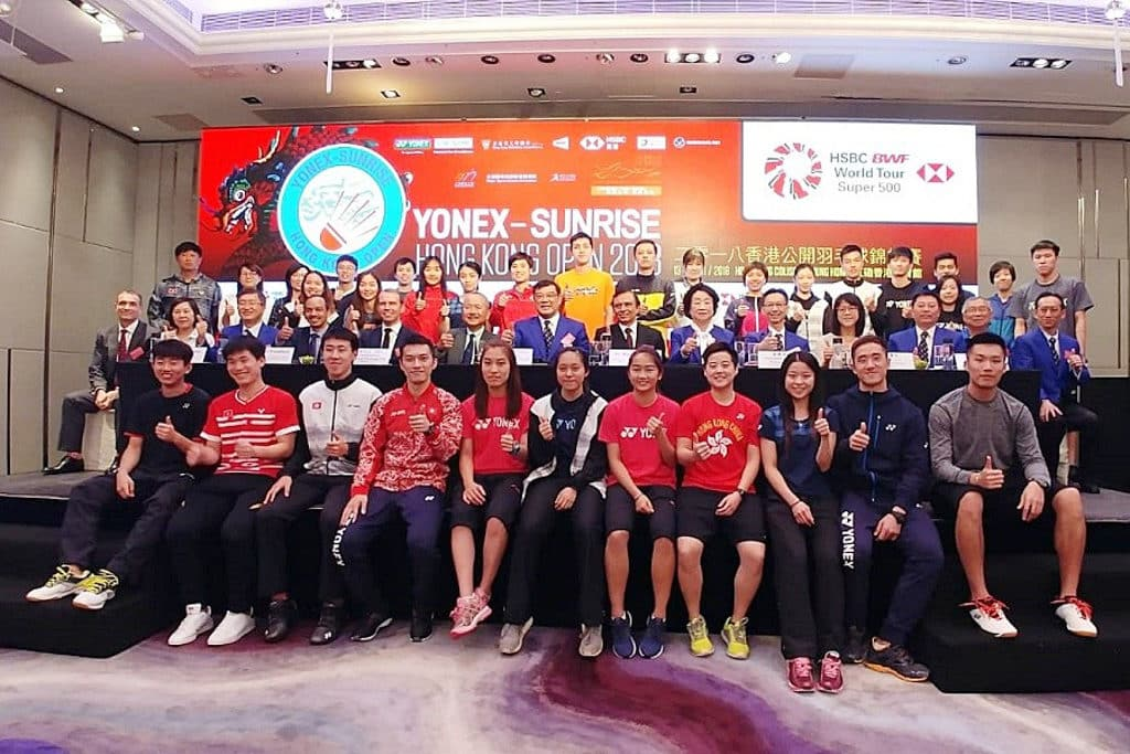 紅館:香港公開羽毛球錦標賽 2018 港隊今年派出 22 位球員出戰。