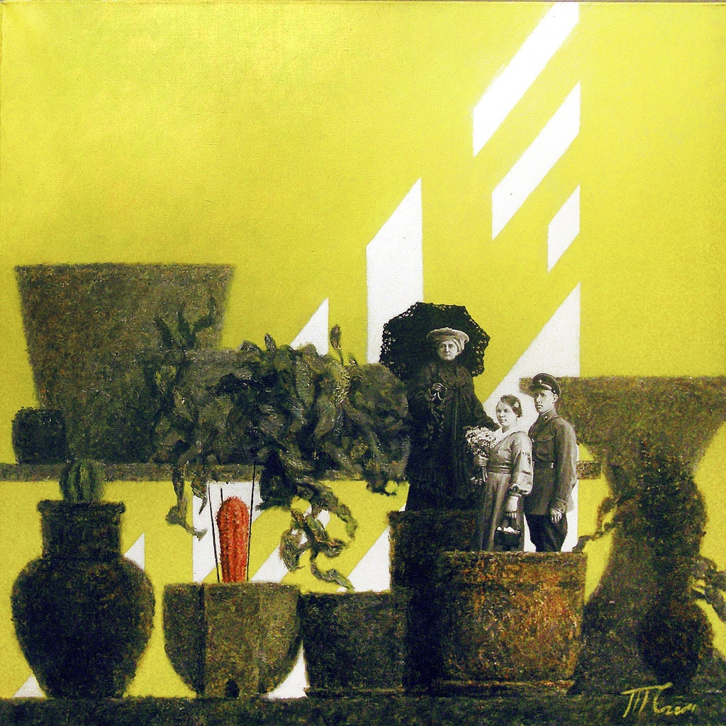 """金鐘:亞洲當代藝術展2019春季展 """"Red Cactus"""",Timofey Smirnov, Red Square Gallery,香港,房間 4104"""