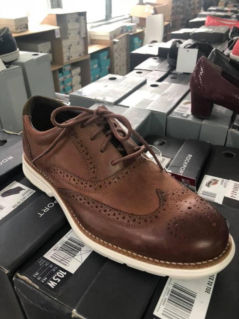 觀塘開倉:Boomsale聖誕服飾及精品開倉優惠 ROCKPORT皮鞋 HK$590