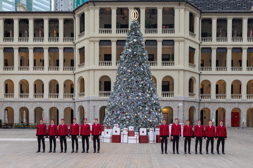 「卡地亞假大館傳揚聖誕精神」慶祝活動