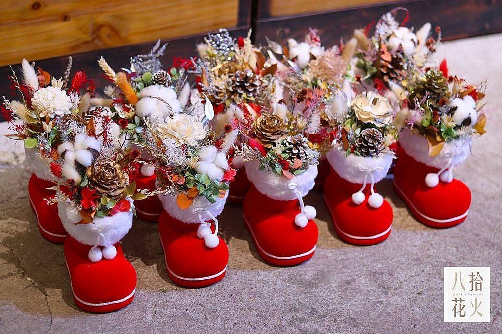 荃新天地:LOCOLOCO 聖誕市集推介品牌:讓花藝融入生活,使其成為更實用的藝術家品的「八拾花火」。