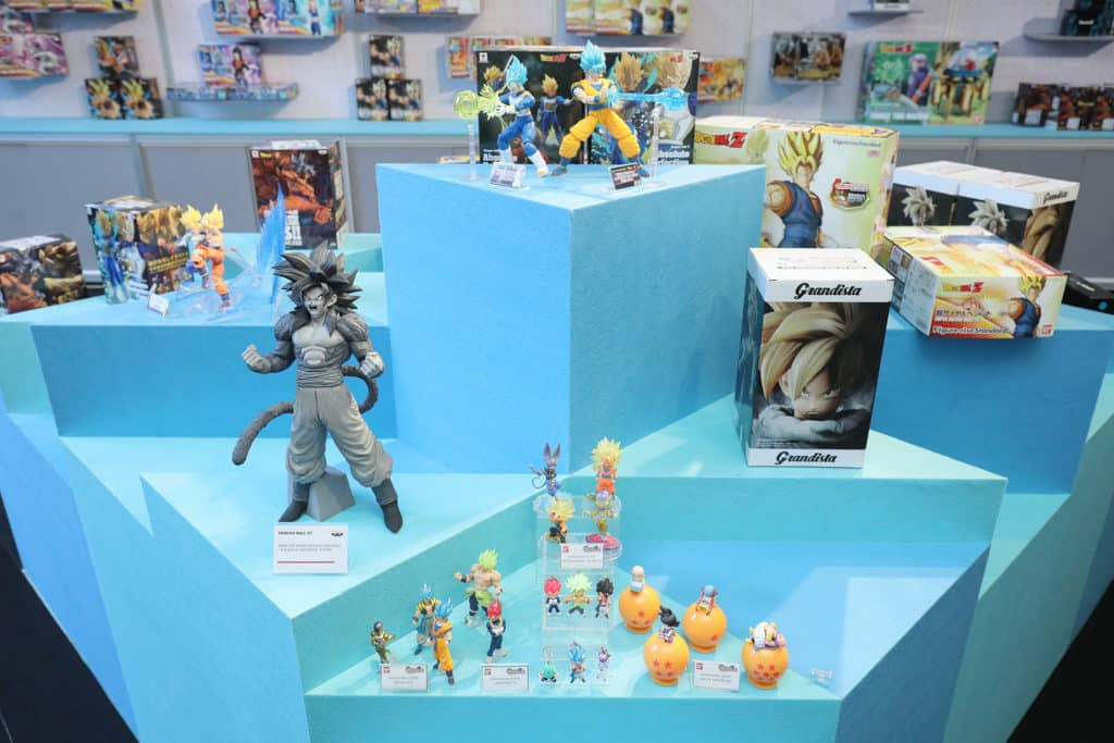 數碼港商場:龍珠超體感互動藝術展 《龍珠》珍藏展展出罕見龍珠模型。