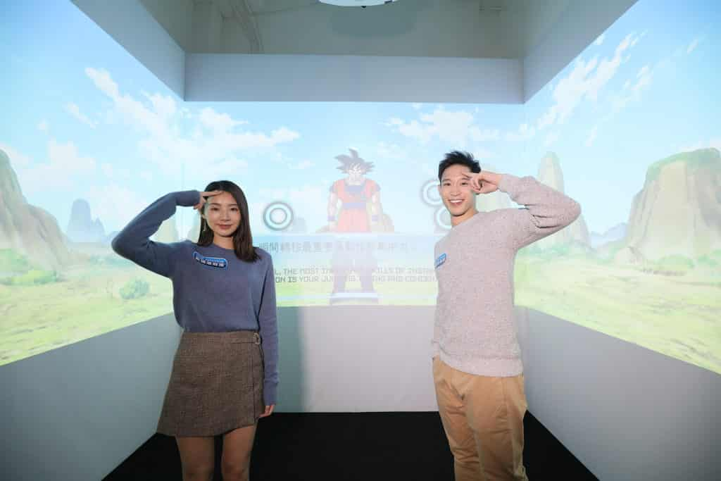 數碼港商場:龍珠超體感互動藝術展 瞬間轉移體驗區