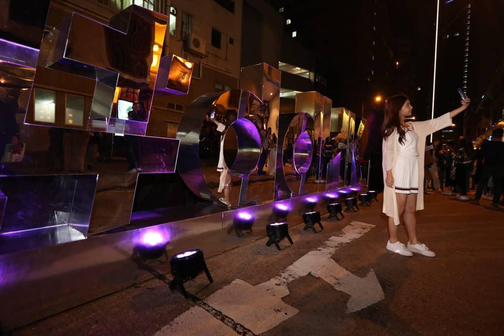 香港設計中心:「#ddHK設計#香港地」同場設有 4 大自拍打卡位。
