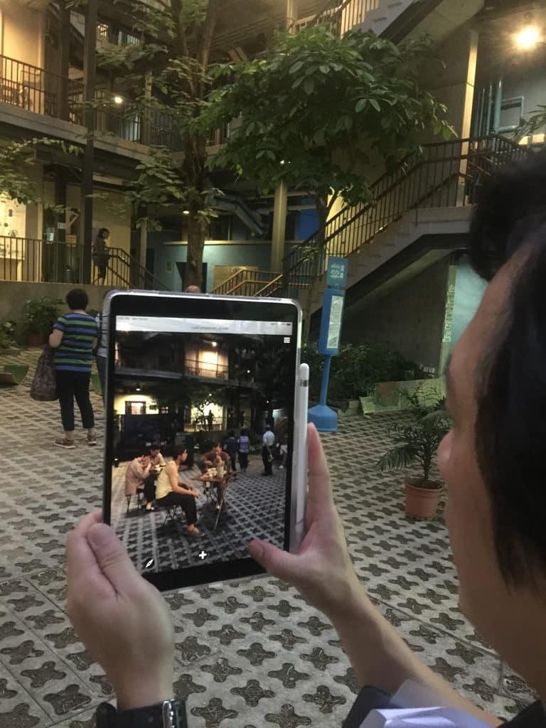 香港設計中心:「#ddHK設計#香港地」灣仔區設置了 10 個 BeHere 站點,可利用 AR 重現立體影像及場景。