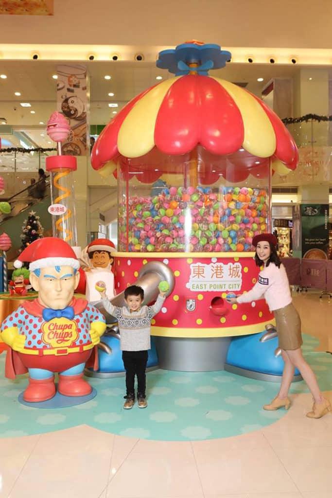 東港城:IQ博士x珍寶珠聖誕嘉年華 傻瓜超人巨型珍寶珠扭蛋機