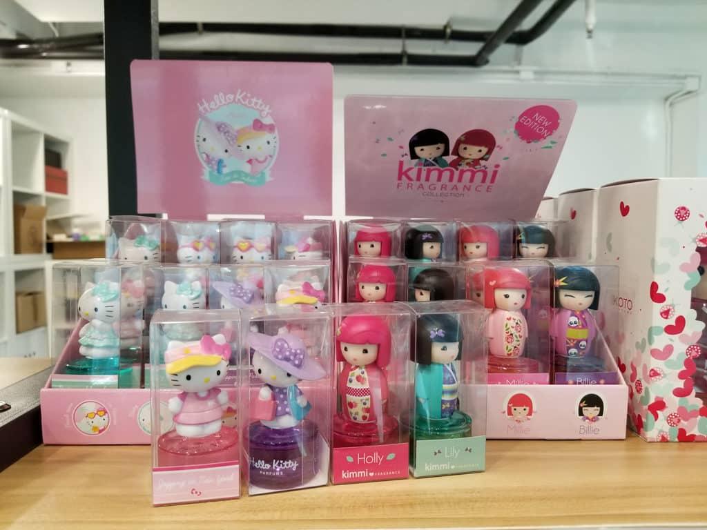 上環:歐洲護膚品保健用品開倉 Hello Kitty 、Barbie 香水 HK$20