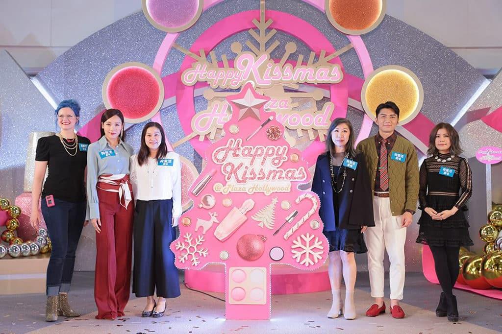 荷里活廣場:Happy Kissmas 活動請來袁偉豪向李佳芯做開幕嘉賓。