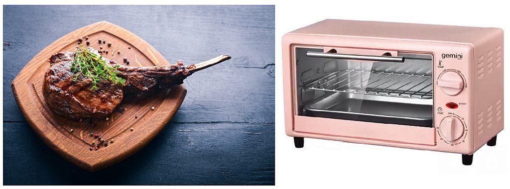 消費者在冬日美食節 2018 會場購買 Bindaree 澳洲 100 天穀飼斧頭扒,可同時以 $1 港元的優惠價換購原價 $796 的 Gemini 迷你電焗爐。