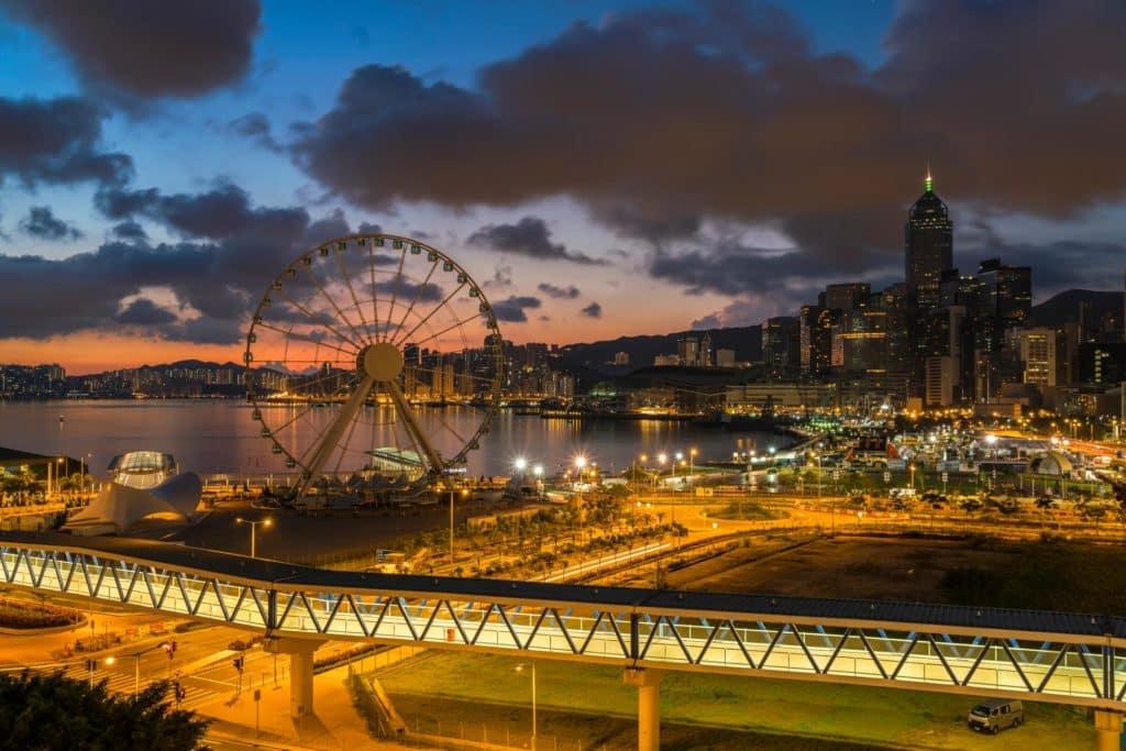 【2019第一道曙光】11 個欣賞香港日出地點 除夕·元旦浪漫好去處 中環IFC商場平台
