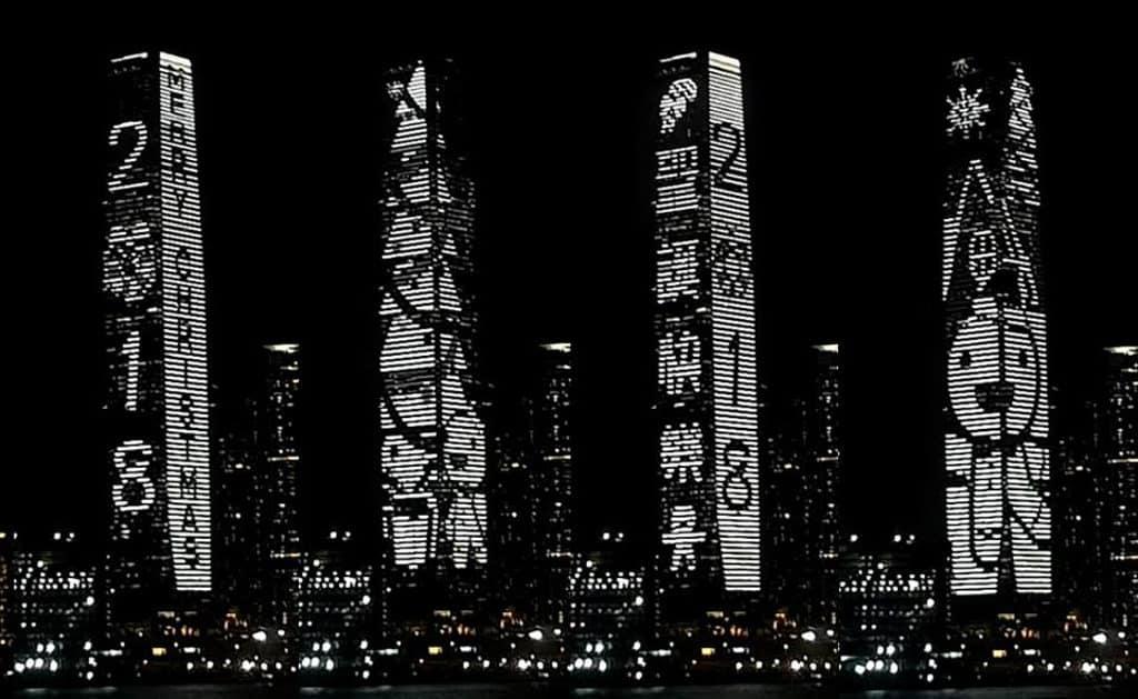 ICC聲光耀維港「音樂遊蹤」ICC 聲光耀維港「音樂遊蹤」預備聖誕特別版動畫。
