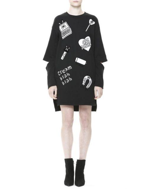 i.t Bazaar Sale (12 月份) 精選貨品:MINI CREAM黑色連身裙開倉價 $179 (原價 $699)