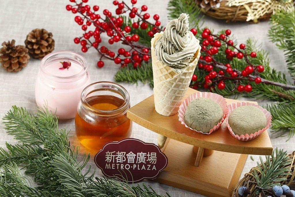 新都會廣場聖誕周末市集推介:茶屋町以日本人百分百的細心,炮製出讓人感到幸福的甜點。