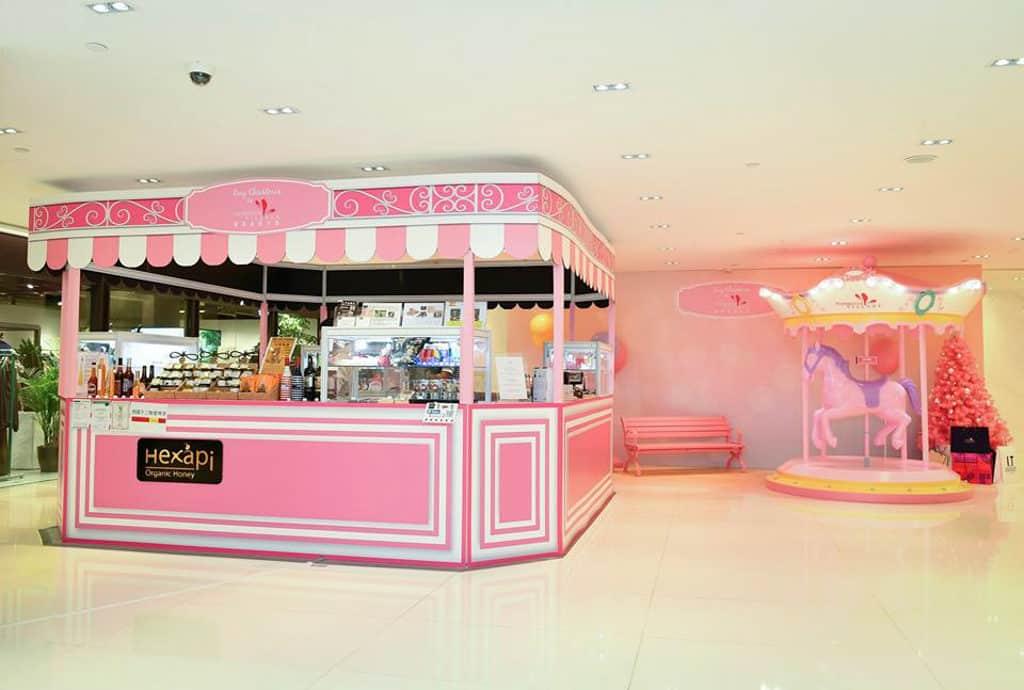 香港佛羅倫斯小鎮「紅粉聖誕」匯聚各國美食的聖誕市集