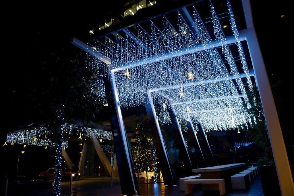 灣仔星街聖誕:聖誕馴鹿華麗閃爍裝飾