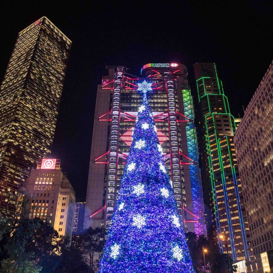 皇后像廣場聖誕樹 2018 活動圖片