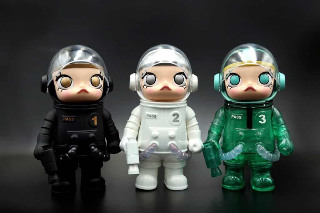 九展:TOYSOUL亞洲玩具展 近期成為玩具迷話題的「Molly 太空人 3 Day Pass」
