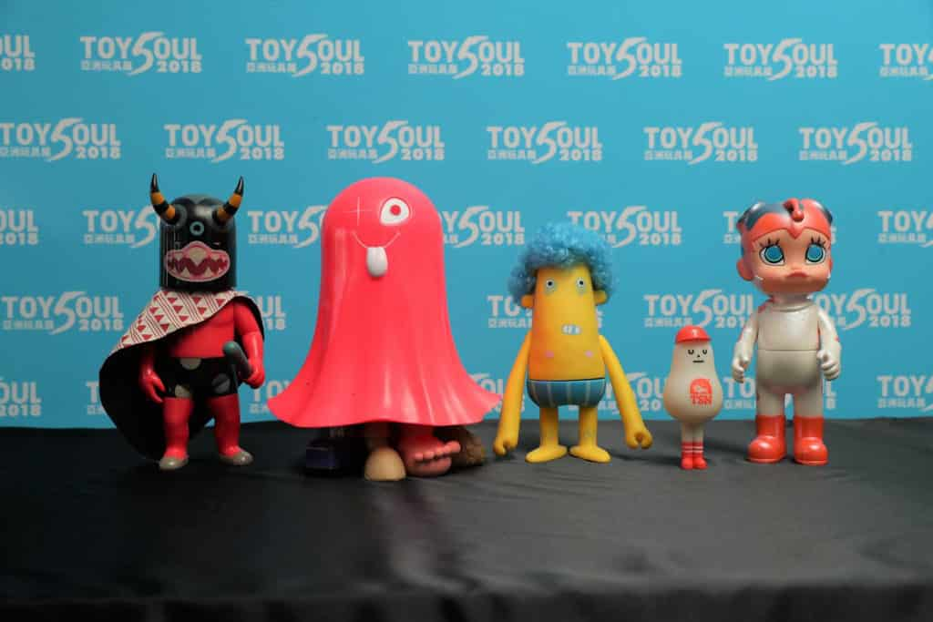 TOYSOUL亞洲玩具展2018 TOYSOUL將有逾 50 個玩具參展單位推出 Figure 及精品。
