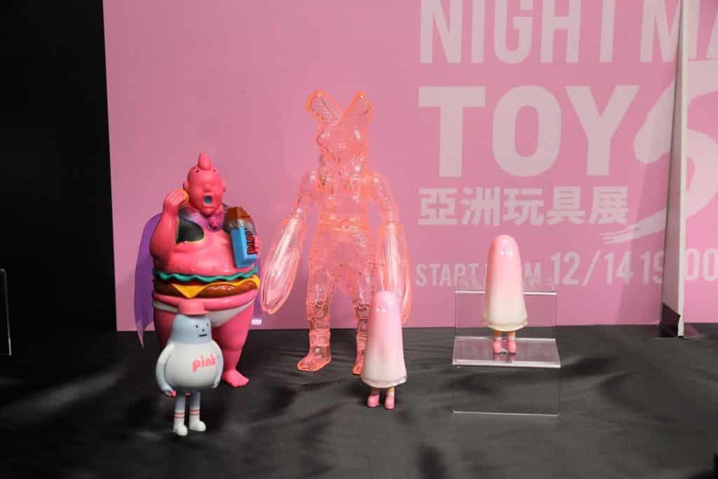TOYSOUL亞洲玩具展2018 「粉紅市集」精選多款粉紅色限時產品。