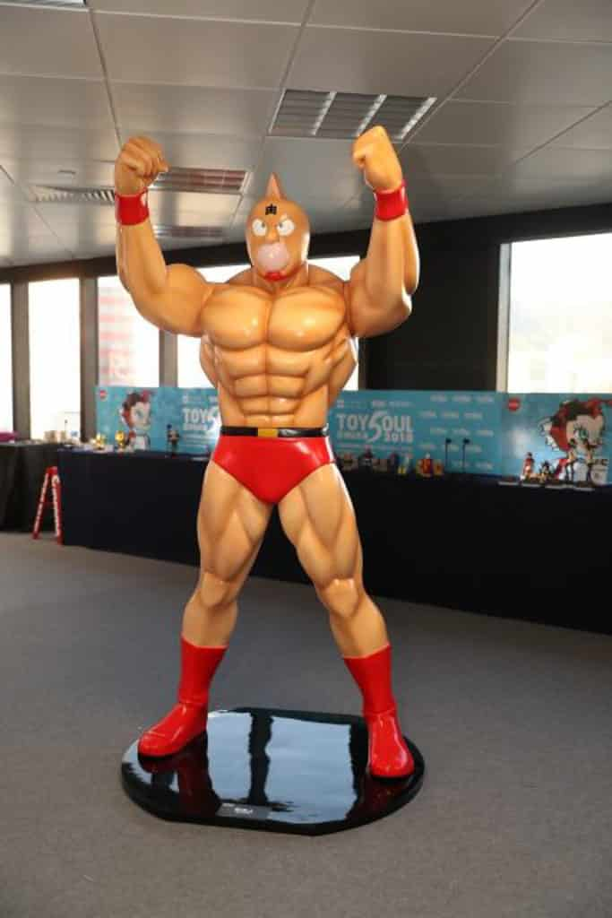 TOYSOUL亞洲玩具展2018 TOYSOUL 2018 期間舉辦「筋肉人x工匠堂 『香港』Go! Go! Muscle! Friendship Power 2018」主題展。
