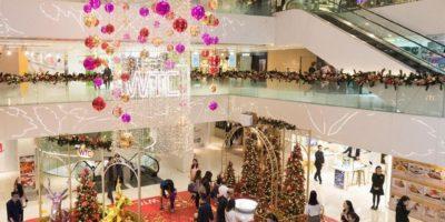 世貿中心:閃耀聖誕藝術王國
