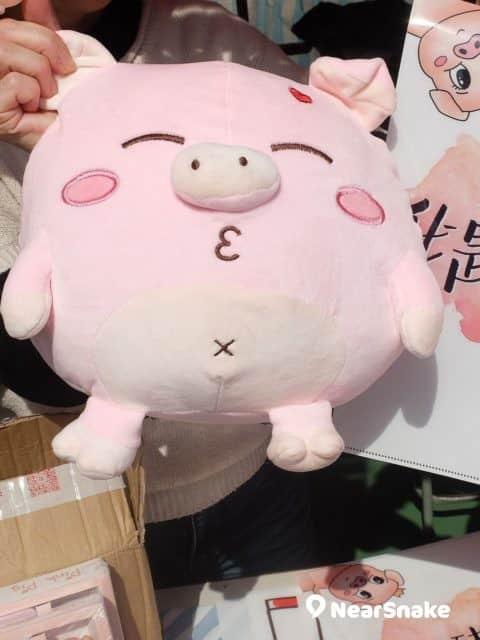 豬年年宵貨品: 看到頭頂的紅心,豬隊友是很有「Heart」的。 (售價︰$138)