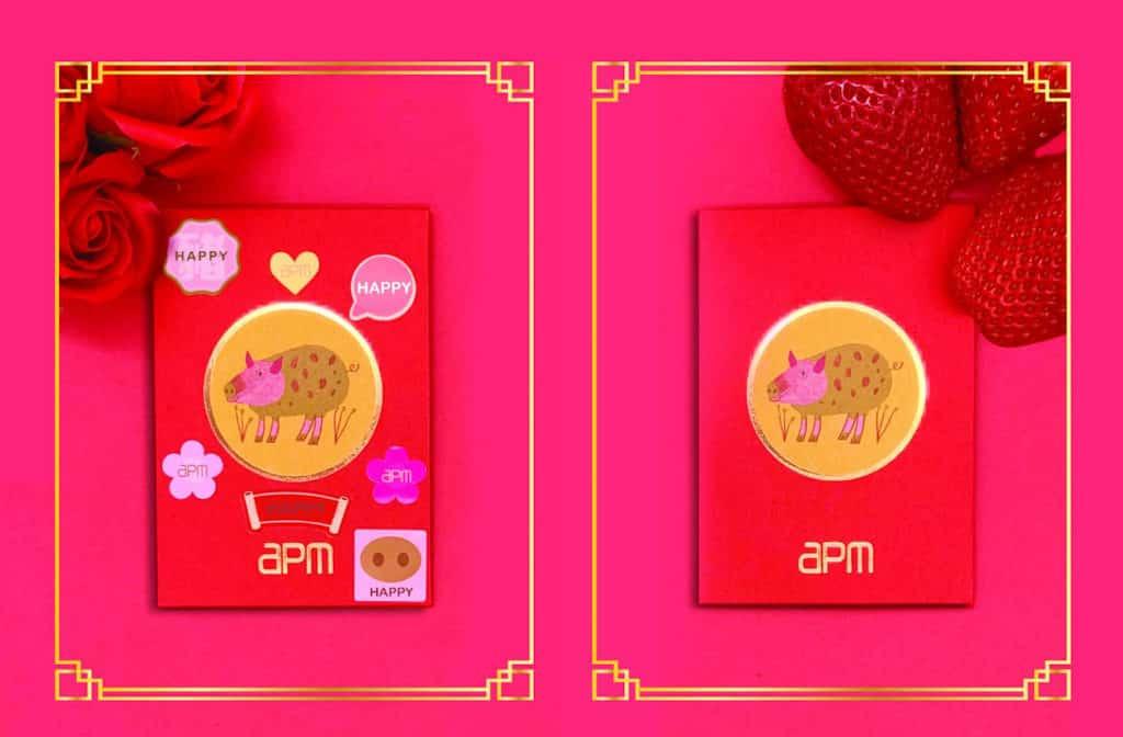 觀塘apm:開運潮豬迎新春 可自選專屬香氛味道,備有玫瑰花及士多啤梨味可供選擇。