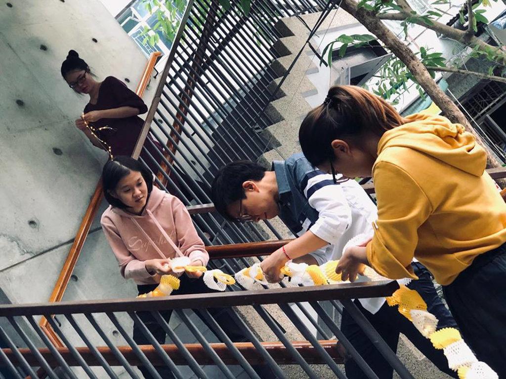 灣仔藍屋香港故事館:「小社區生活圈」We嘩藍屋開放日 灣仔藍屋以往都曾舉辦工作坊,吸引公眾參與。