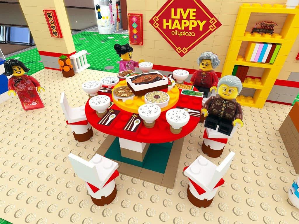 太古城中心:整整「砌砌」過新年|LEGO人仔慶新春