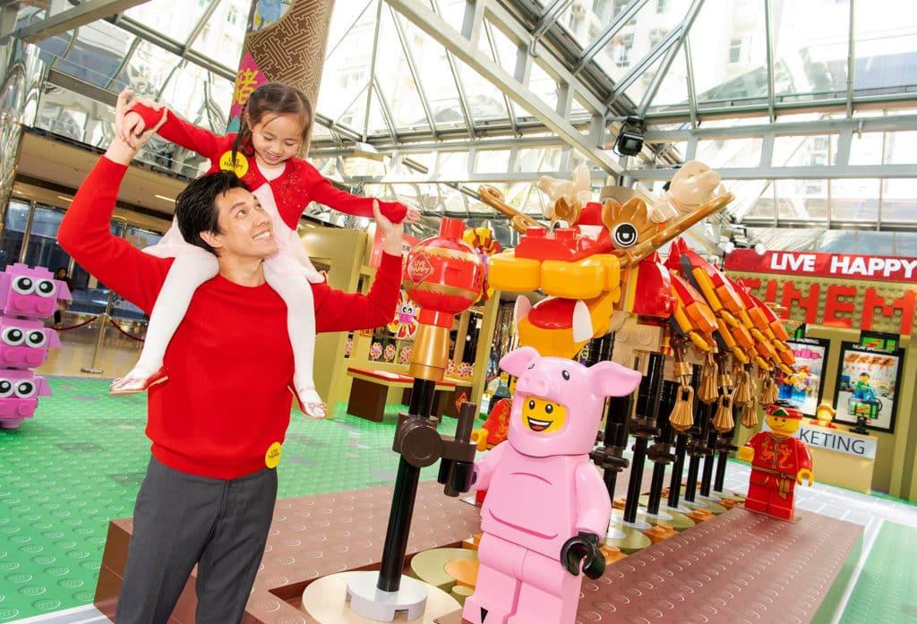 太古城中心:整整「砌砌」過新年 太古城中心聯乘 LEGO 舉辦「整整『砌砌』過新年」主題活動。