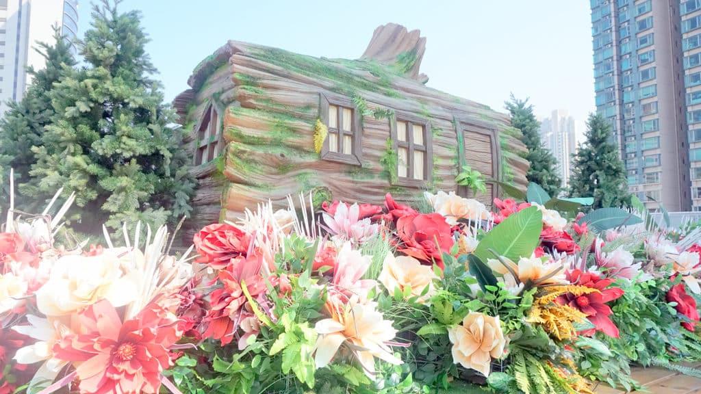 D2 Place「豬事町」新春活動 D2 Place ONE 天台花園化作百花庭園。